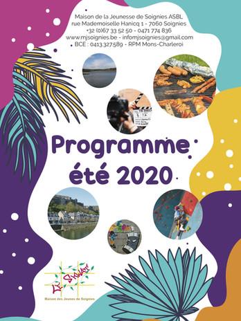 programme été 2020