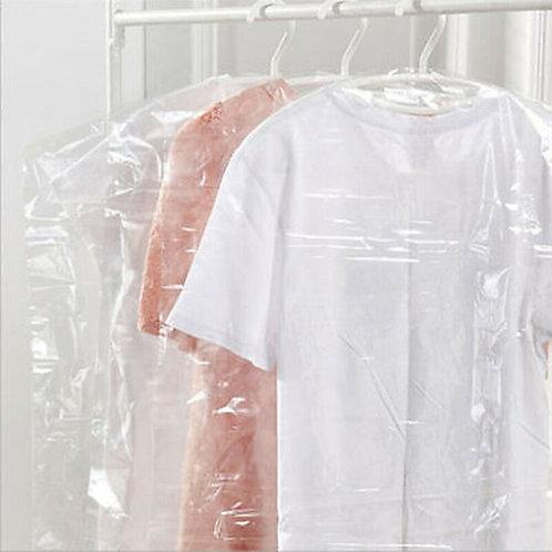 أكياس ملابس شفاف - 120 حبة
