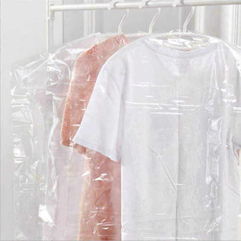 Transparent garment bags