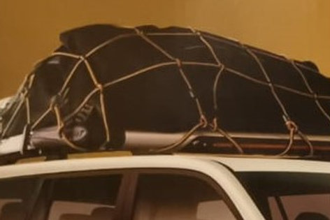 شبكة نقل 150 سم /90سم لصندوق السيارة مرنة قابلة للتمدد مع 10خطافات لتخزين وترتيب