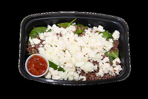 Quinoa & Eggwhite Scramble