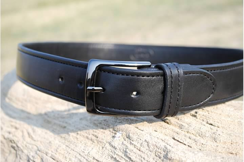 leather gun belt ccw belt hbartactical