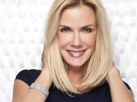 Katherine Kelly Lang guests on the What's Your Name Again? podcast, with host Kurt Caceres