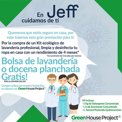 Kit Lavandería Eco - Mr Jeff