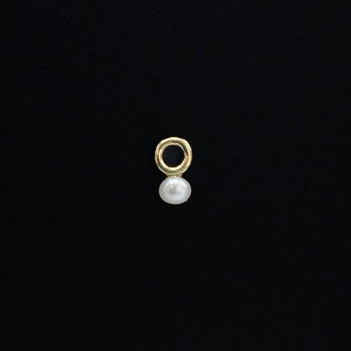 Aro con Perla Oro 10k
