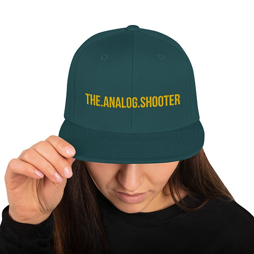 "Gorra Plana ""The Analog Shooter"""