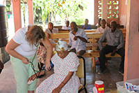 Haiti's Children Brings Medical Clinic to Nursing Home in Les Cayes