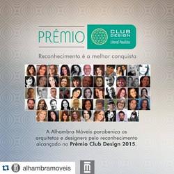 PRÊMIO CLUB DESIGN - 2015