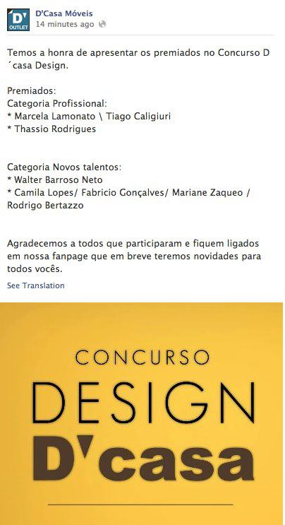 CONCURSO D'CASA - 2012