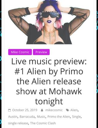 Cosmic Clash - Primo the Alien