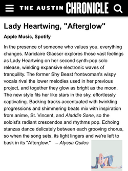 Austin Chronicle - Lady Heartwing