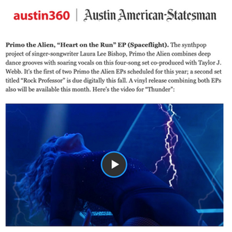 Austin American Statesman - Primo the Alien
