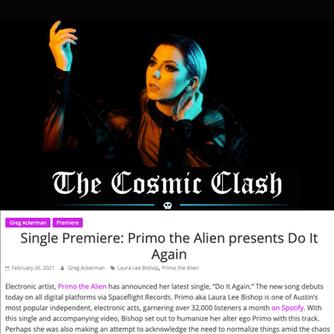 The Cosmic Clash - Primo the Alien