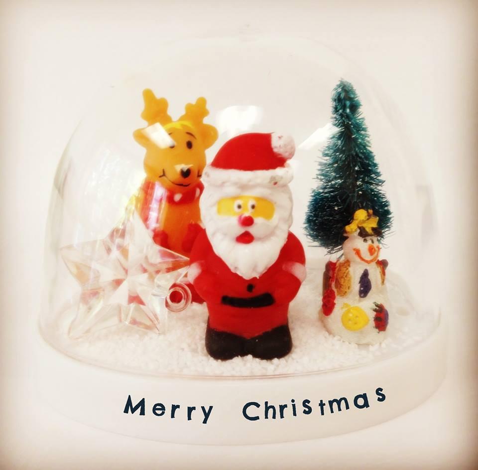 クリスマス スノードーム