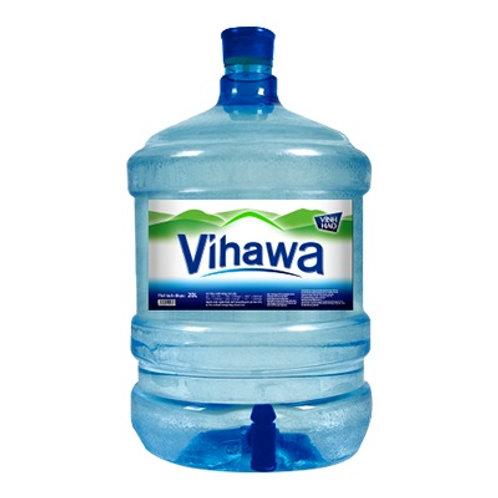 Nước uống đóng chai VIHAWA bình 20 lít