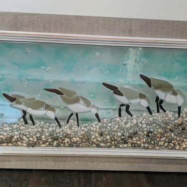 Sand Pipers $300 sold