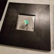 blue bird mirror