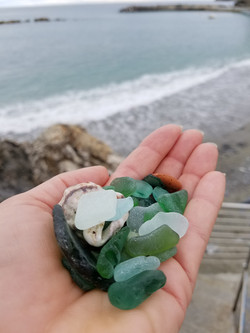 collected seaglass