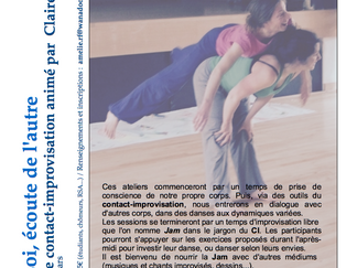 Stage de Contact-Improvisation, 14 janvier
