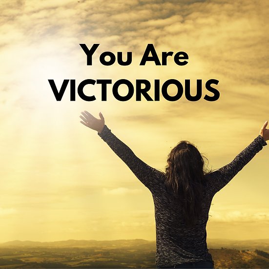 """Encouragement Postcards (16) """"YOU ARE Victorious"""""""