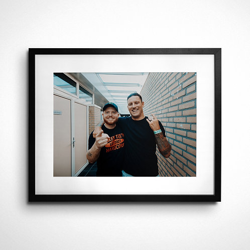 Hatebreed x Parkway Drive - Exclusive Signed print 40x50cm
