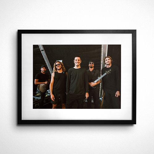 Helsinki 2018 - Framed print 40x50cm