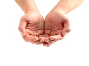 Open Your Hands!