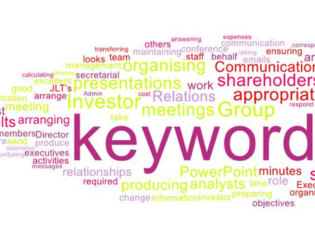 Using Keywords to increase visibility of your LinkedIn profile when finding a new job