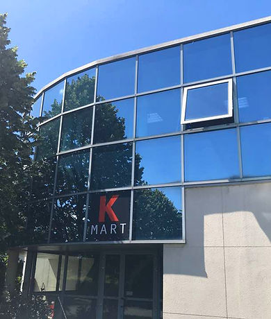 Entrepôt K Mart à Stains