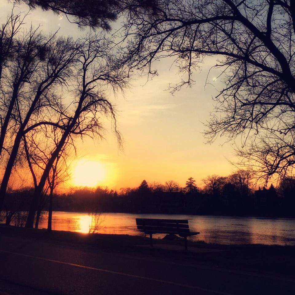 A Rockford sunset. Photo provided by Victor Rascon