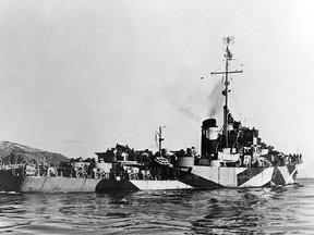 USS Rockford sunk infamous Japanese Submarine