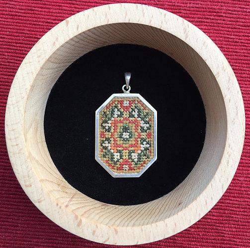 Octagon pendant