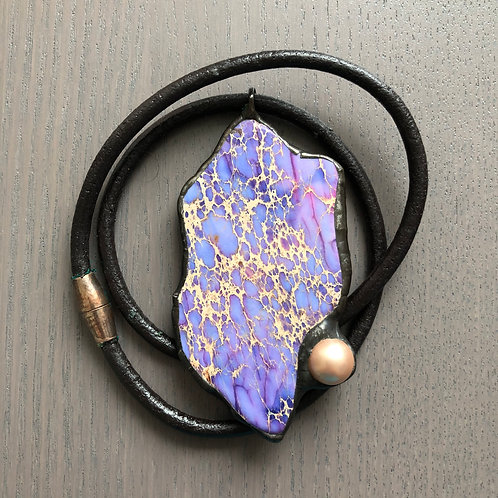 Necklace with Mexican Agate