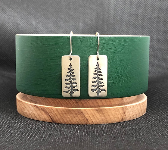 "Earrings ""Xmas tree"""