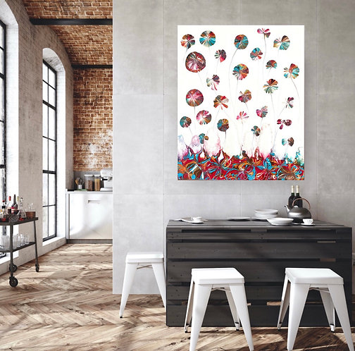 Colourful dandelions No.2