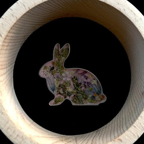 """Brooch """"Rabbit"""""""