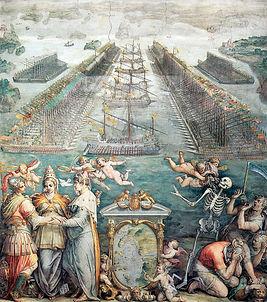 The Battle of Lepanto, by Girgio Vasari1