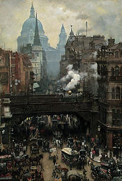 St._Paul's_and_Ludgate_Hill,_c.1887_(o