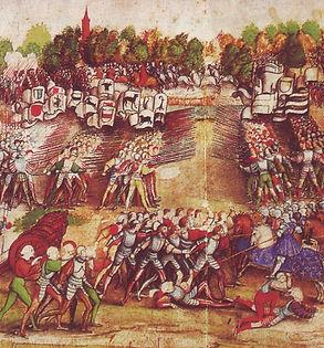Battle of Marignano, Maître à la ratie