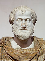 7. Bust of Aristotle. Marble, Roman copy