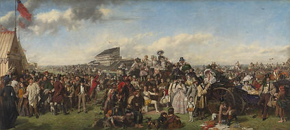 The Derby Day, by William Powell Frith,
