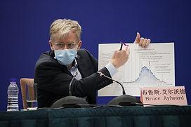 Bruce Aylard, WHO epidemiologist, Bejing