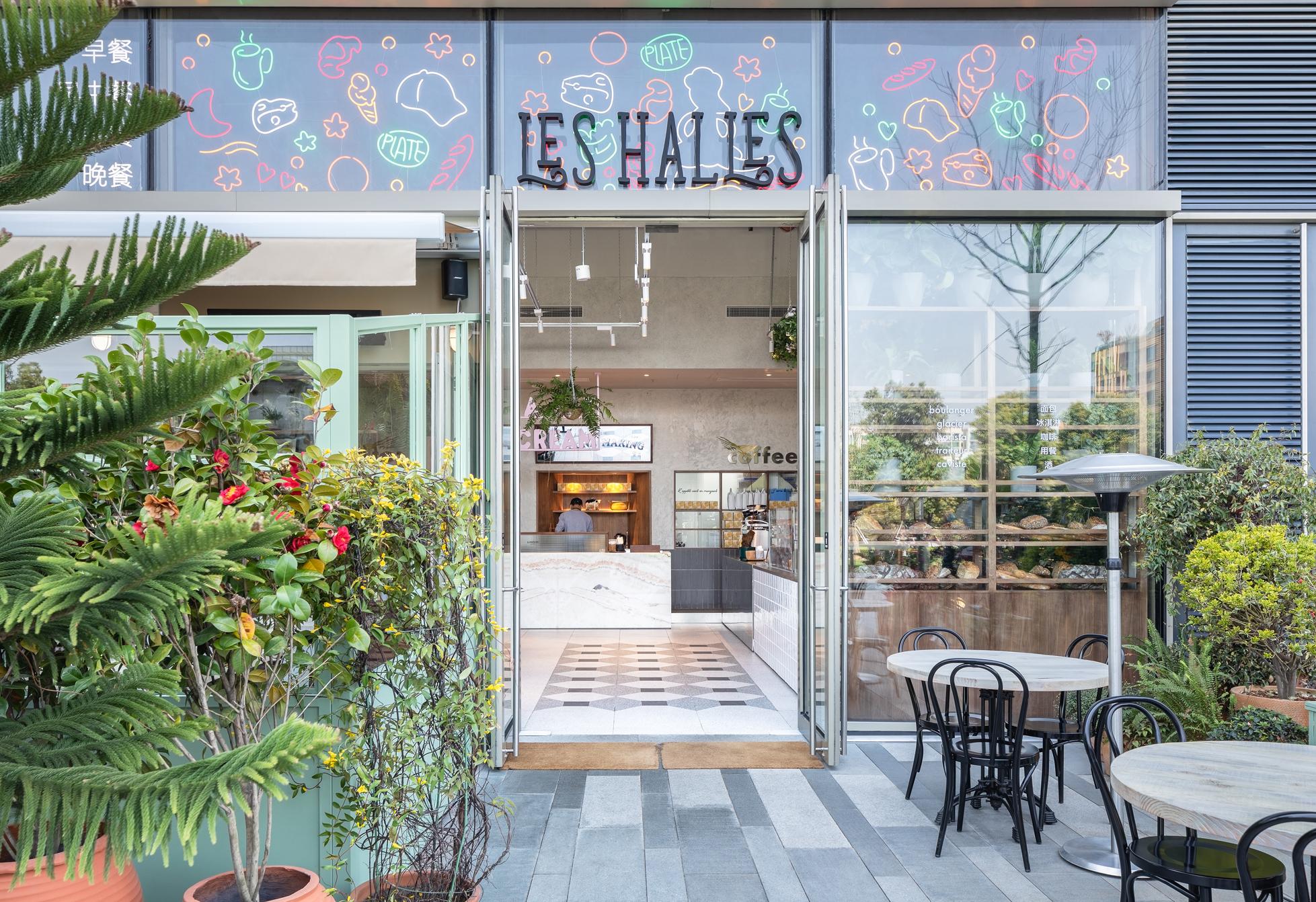 Lunuers Les Halles interior design by hcreates