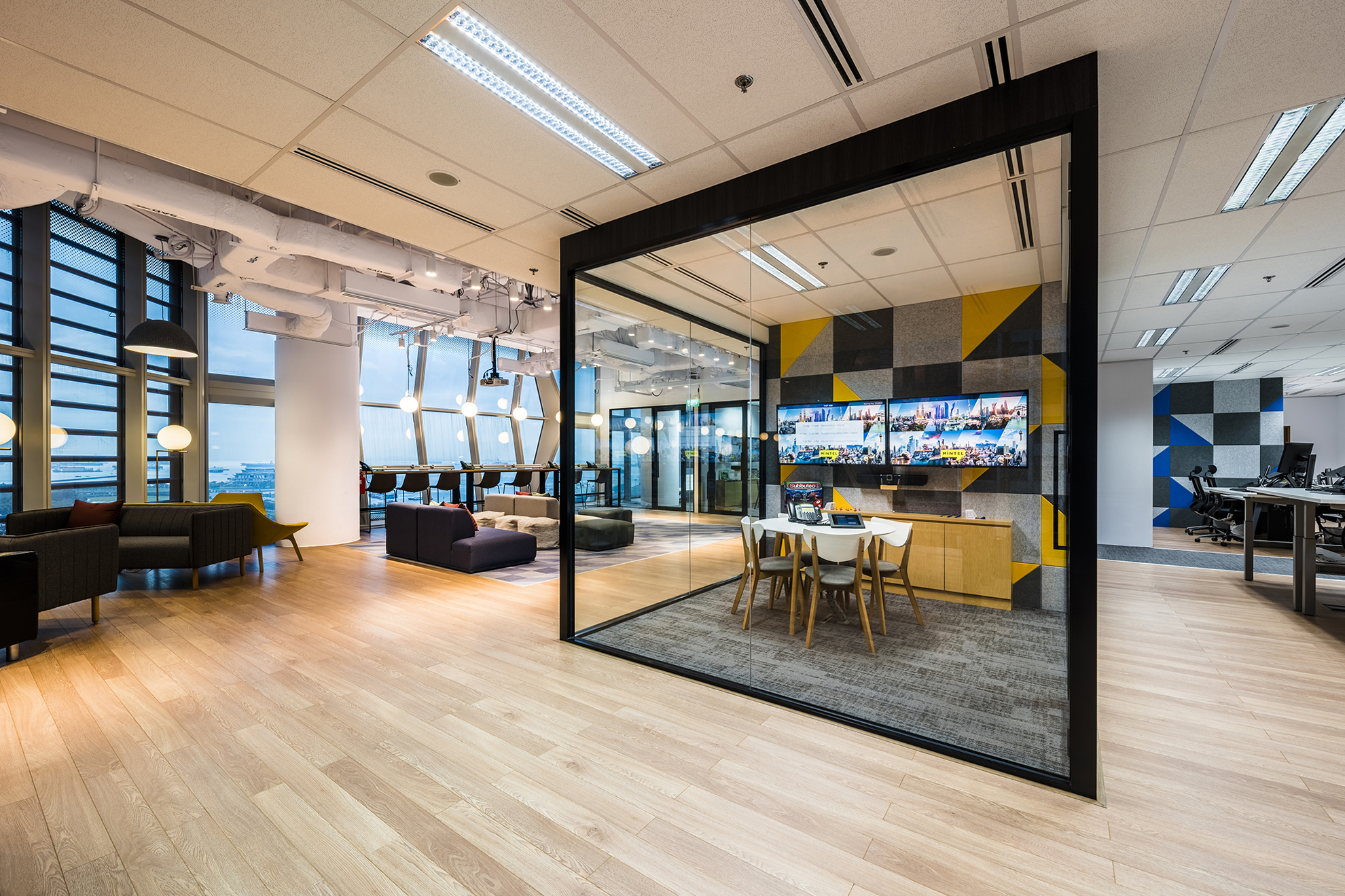 Singapore Office Design - Mintel
