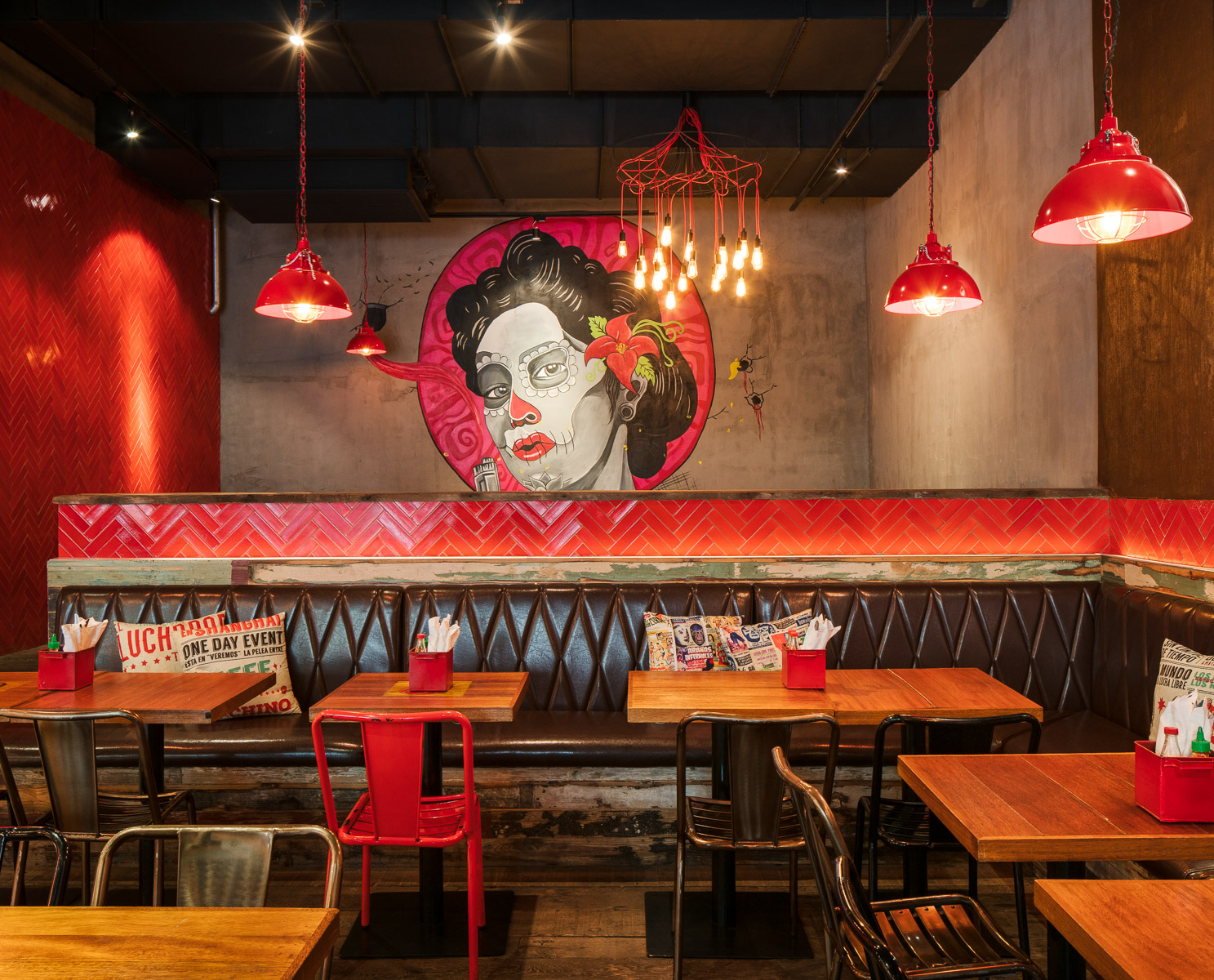 El Santo, Shanghai Mexican restaurant, by hcreates interior design