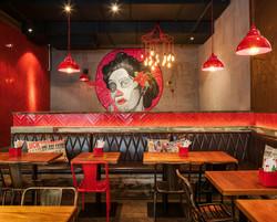 El Santo, Shanghai Mexican restaurant, by hcreates interior design
