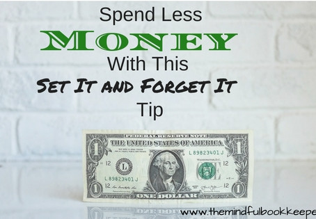 Spend Less Money With This Set It And Forget It Tip