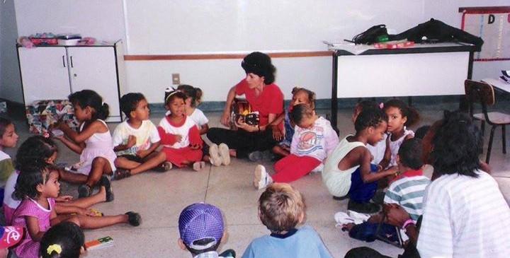 Primeira turma - Escola Infantil APiTO