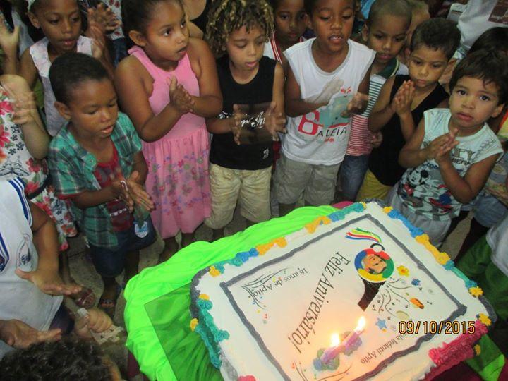 A Escola Infantil APiTO celebra em 2015 seu 16° aniversário, compartilhando sua história por meio da realização de atividades lúdicas para o