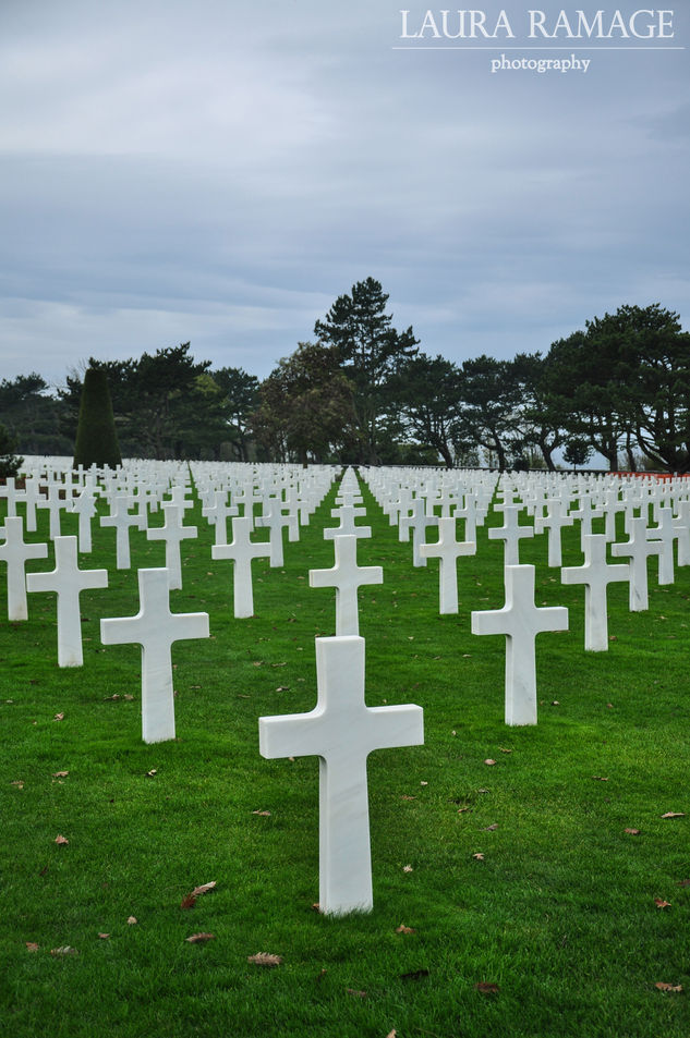 Normandy American Cemetery, France
